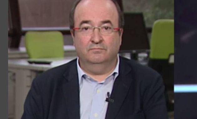 El líder del PSC. Miquel