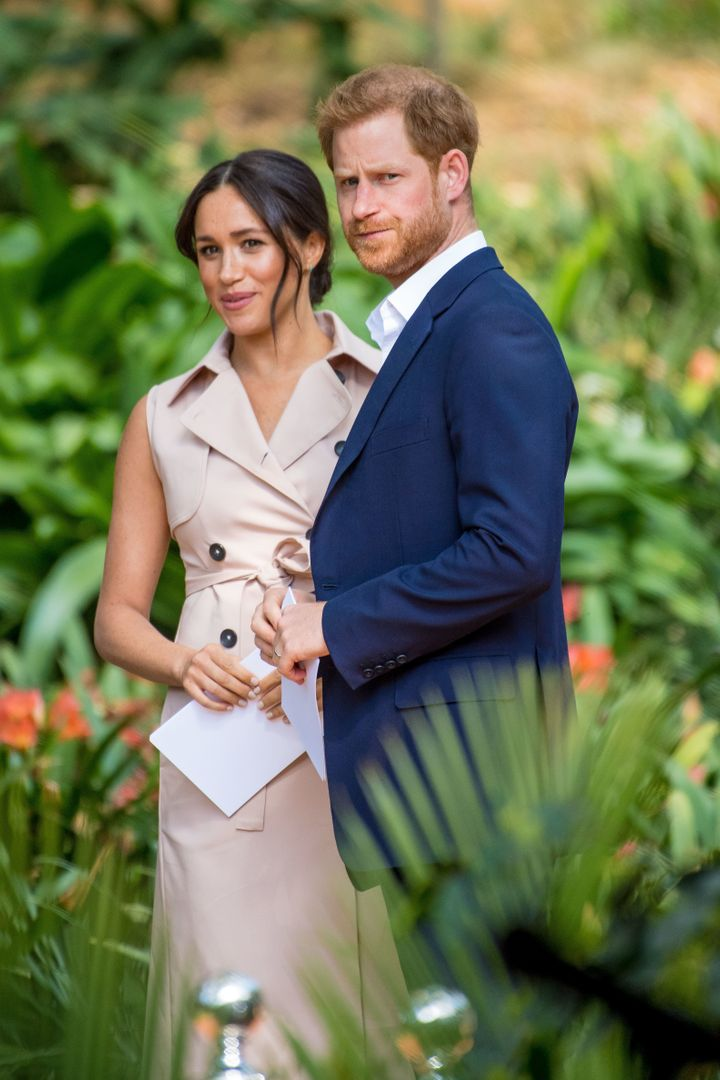 Piers and Jameela's row began after comments he made about the Duke and Duchess of Sussex