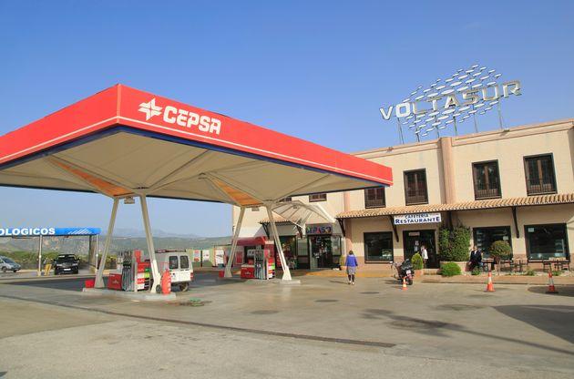 La compagnie pétrolière espagnole Cepsa lance son réseau de stations service au