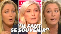 Quand Marine Le Pen jugeait