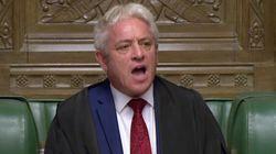 El 'speaker' Bercow impide a Johnson someter a votación su acuerdo del