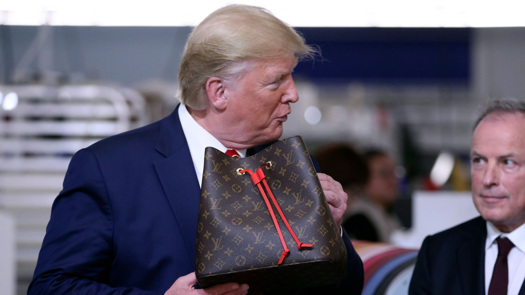 Louis Vuitton Director Slams Trump As 'Joke' After Visit To Brand's Texas Workshop