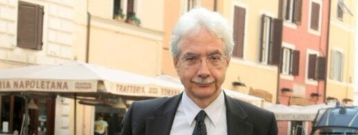 Former Bank of Italy director general Salvatore Rossi is seen in