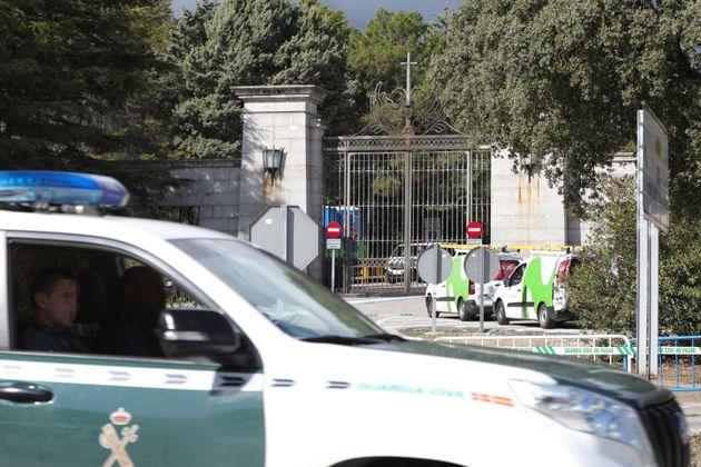 El ataúd de Franco saldrá a hombros de sus familiares y sin honores ni