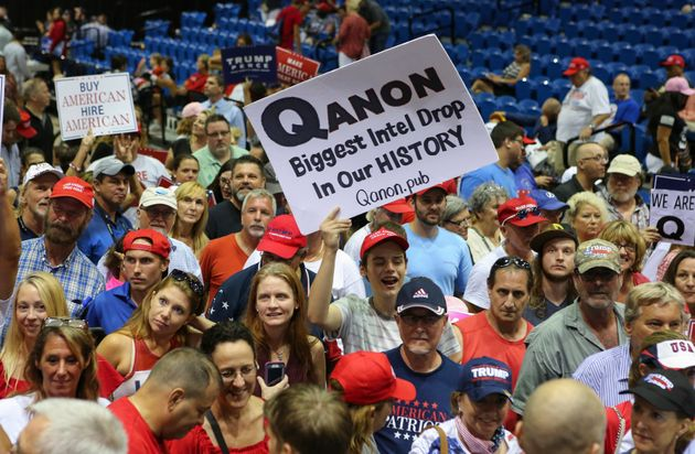 Members of the QAnon community are anxiously awaiting the official launch of 8kun, as they believe it...