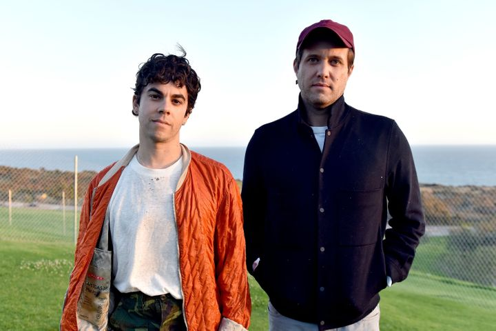 """Los Angeles-based pop duo Electric Guest are Asa Taccone (left) and Matthew """"Cornbread"""" Compton."""