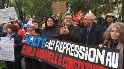 Mélenchon rapproche Piñera et Pinochet dans son discours de soutien (en espagnol) aux