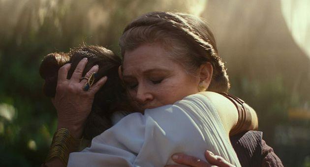 Filme marca a última participação de Carrie Fisher na saga Star