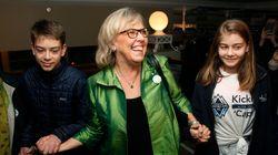 Le Parti vert fait élire trois