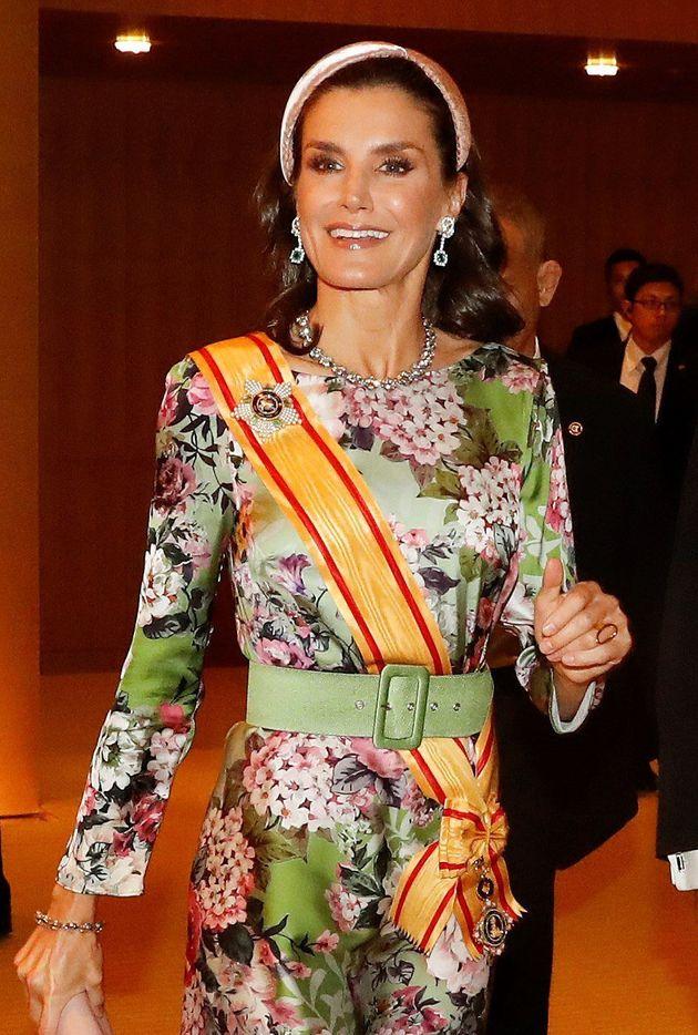 La reina Letizia, en la entronización de