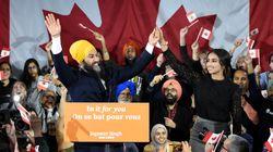 Jagmeet Singh veut bâtir sur son premier rendez-vous électoral avec le