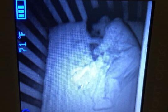 Westlake Legal Group 5dae961f210000e81e34aa26 Halloween Comes Early For Mom Who Sees 'Ghost Baby' Sleeping Beside Son
