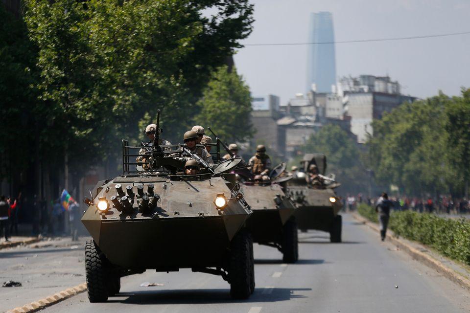 Χωρίς τέλος η οργή στη Χιλή που για κάποιους είναι υπόδειγμα οικονομικής ανάπτυξης και