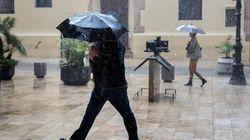 La DANA activa la alerta por fuertes lluvias en 13 provincias, una en