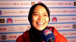 Cette Indonésienne a battu le record d'escalade de