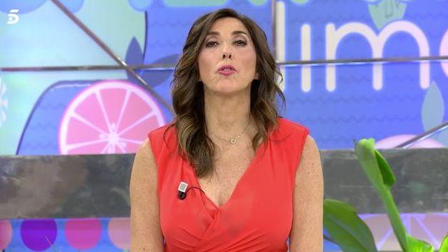 La presentadora de 'Sálvame', Paz