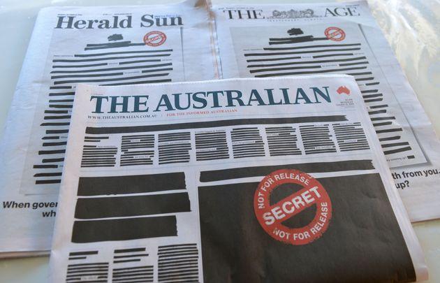 10月21日のオーストラリアの新聞各紙