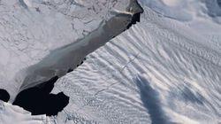 """Perché l'allargamento della crepa del ghiacciaio di """"Pine Island"""" fa"""