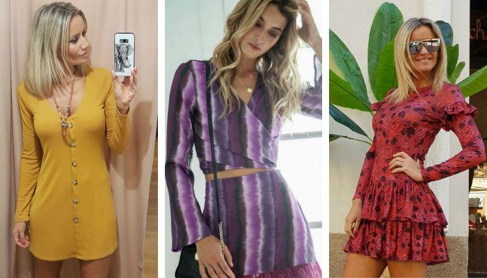 Algunos de los modelos de Capriche que ha lucido Cristina Pedroche.
