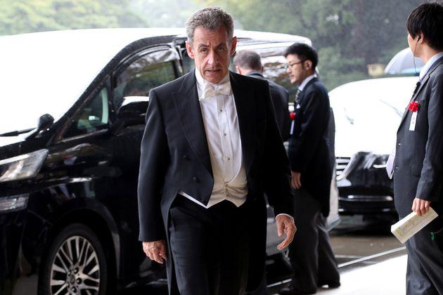 L'ancien président Nicolas Sarkozy a représenté la France pour l'intronisation de...