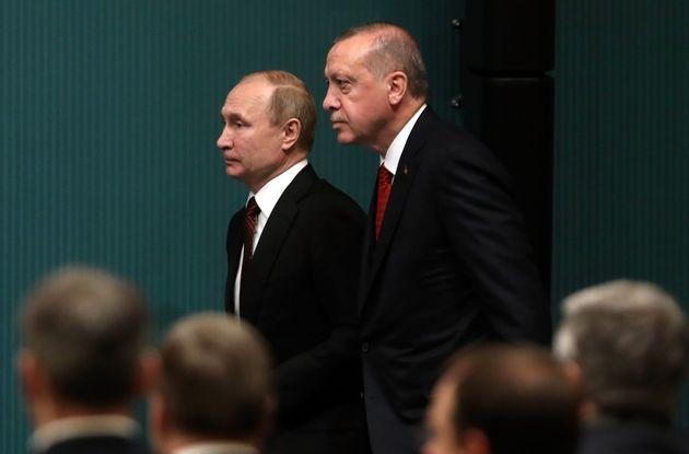 Από την επίσκεψη Πούτιν...