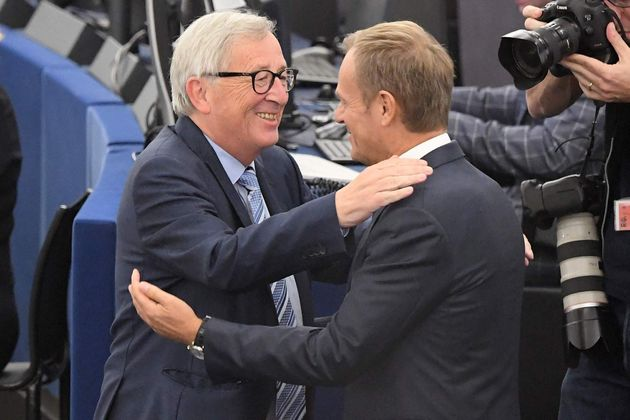 Juncker y Tusk este martes en