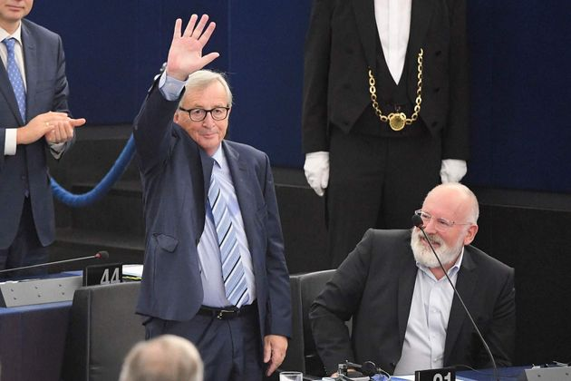 Juncker dice adiós al Parlamento Europeo en