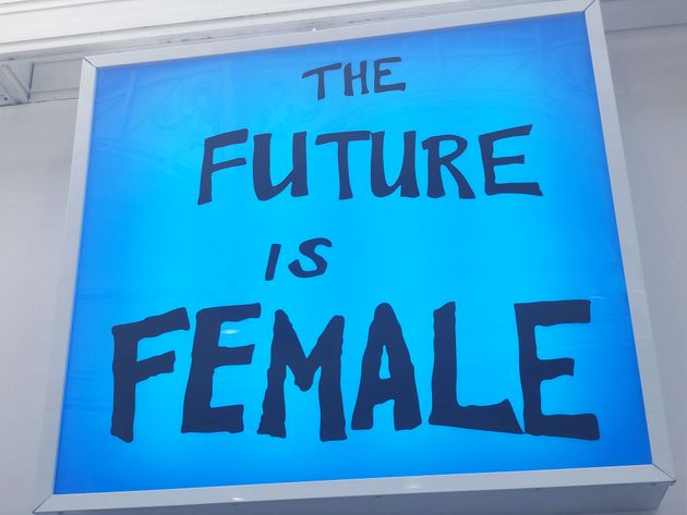 The future is female, Sam