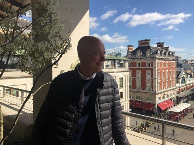 Jesper Groenvold moved to the UK from Denmark in
