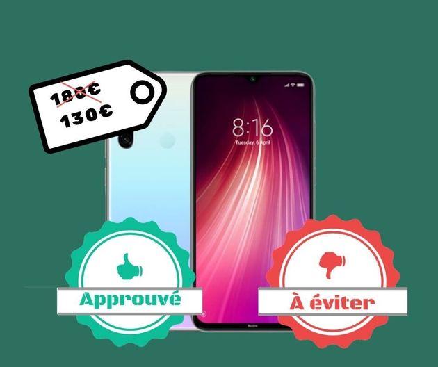 Xiaomi n'a pas commercialisé le smartphone Redmi Note 8 en France, mais il est possible...