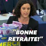 Manon Aubry a offert un cadeau de départ à Jean-Claude