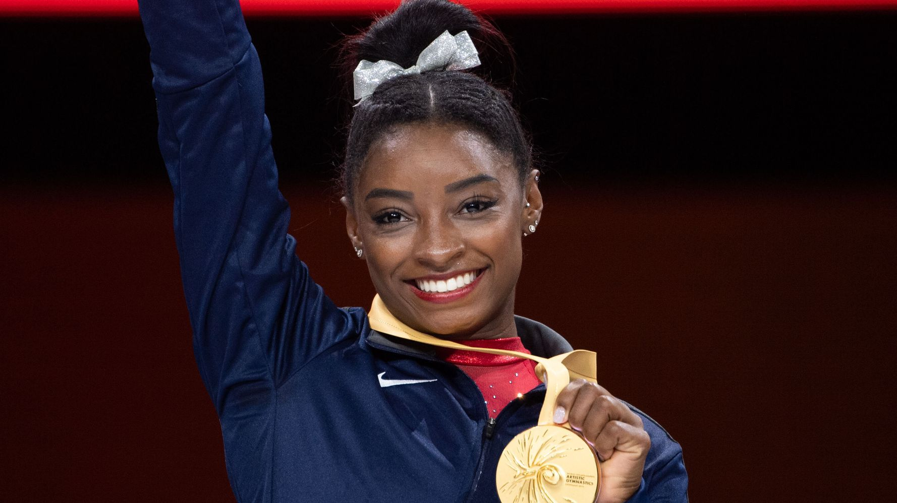 Westlake Legal Group 5daf3fc9210000a521ad395b Simone Biles Pens Sweet Tribute To Stacey Ervin Jr.: 'Man Of My Dreams'