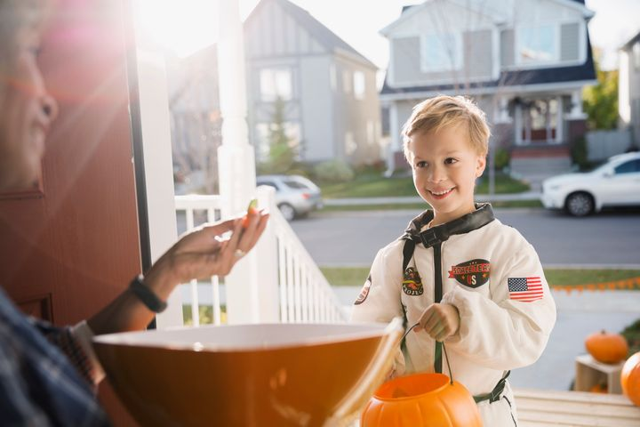 "Somme kids might take a little longer to say things like ""trick or treat,"" or ""thank you."""