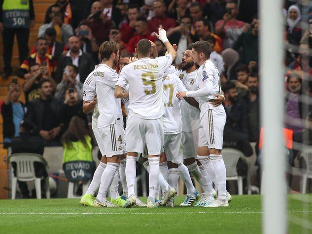 Toni Kroos celebrando el gol de la victoria del Real