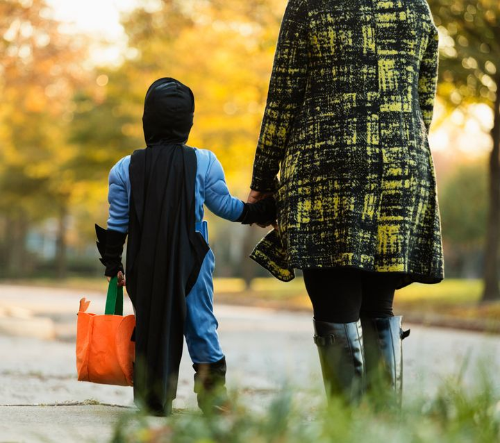 Trick or treat practice runs can help familiarize kids with Halloween so they're more comfortable when the night comes around.