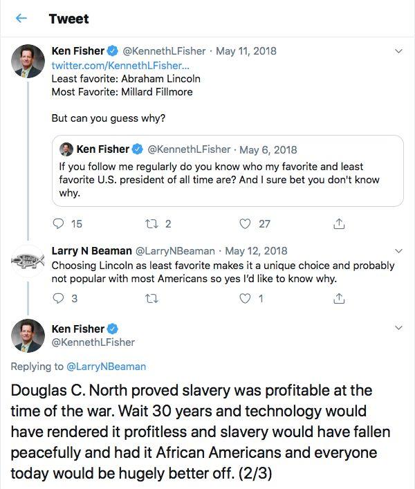 CEO Ken Fisher tiene una reputación de larga data para Lewd, controvertido