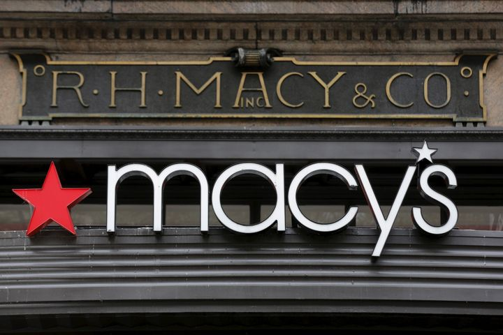 The R.H. Macy and Co. flagship department store is seen in midtown New York, New York, in November 2015.