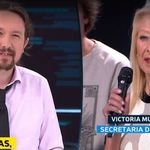 El alegato de Victoria contra Iglesias en 'El Objetivo':