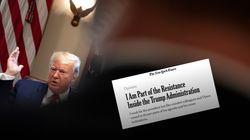 L'auteur anonyme de la tribune anti-Trump publiée en 2018 va sortir un