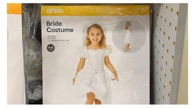 Kmart has yanked a child bride costume due to