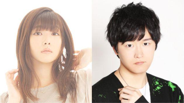 沼倉愛美さんと逢坂良太さん。(公式サイトと公式プロフィールより)