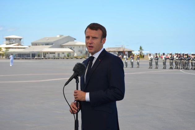 Macron attendu à la Réunion par une grève générale