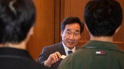 방일 중인 이낙연 총리가 일본 대학생들과 만나 한