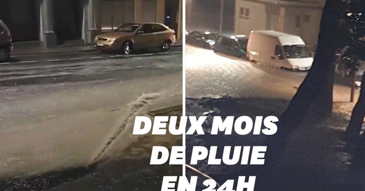 Dans l'Hérault, la ville de Béziers submergée par les eaux