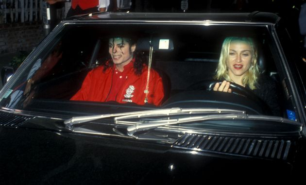 Michael Jackson & Madonna (Photo by Barry