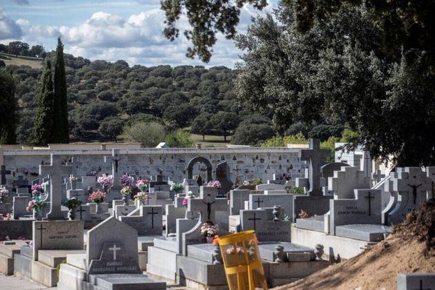Vista del cementerio de Mingorrubio en