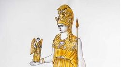 Το χαμένο άγαλμα της Αθηνάς, 28η Οκτωβρίου, στο Μουσείο