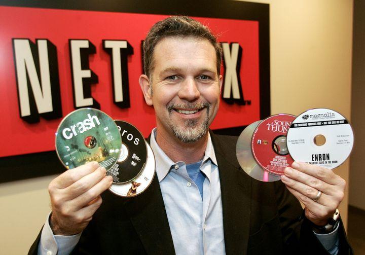 Reed Hastings, consejero delegado de Netflix, en una foto de 2005 en Beverly Hills (California).