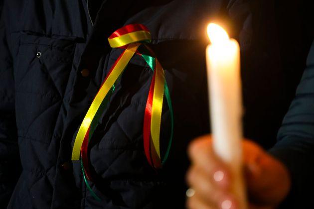 Κούρδος αυτοπυρπολήθηκε έξω από την έδρα της Υπάτης Αρμοστείας του ΟΗΕ για τους Πρόσφυγες στη