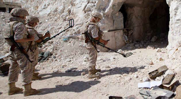 Ρωσικές δυνάμεις στα σύνορα Συρίας-